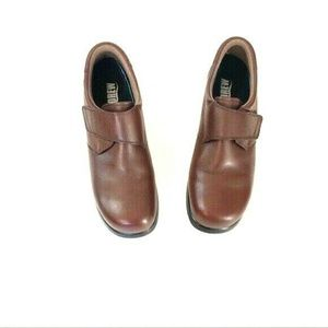 Drew 10M Blossom Brown Leather Slip On Shoes 14343